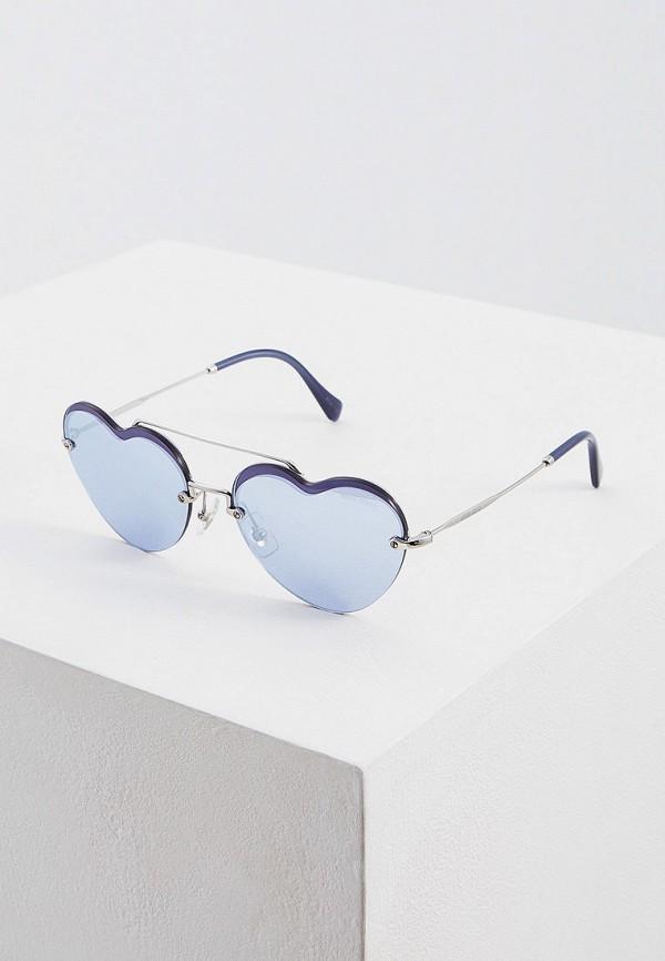 Очки солнцезащитные Miu Miu Miu Miu MI007DWFTTF6 очки солнцезащитные miu miu miu miu mi007dwinf02