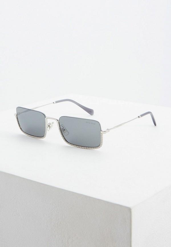 Очки солнцезащитные Miu Miu Miu Miu MI007DWFTTF7 цены онлайн