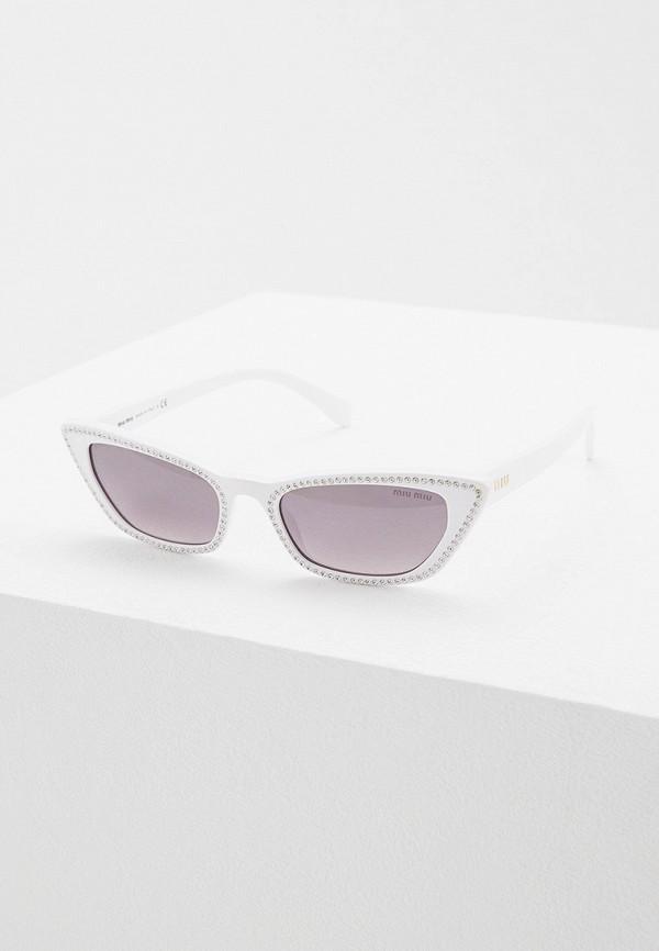 Очки солнцезащитные Miu Miu Miu Miu MI007DWFTTG2 очки солнцезащитные miu miu miu miu mi007dwfttg7