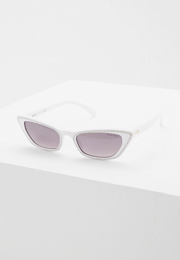 цена Очки солнцезащитные Miu Miu Miu Miu MI007DWFTTG2 онлайн в 2017 году