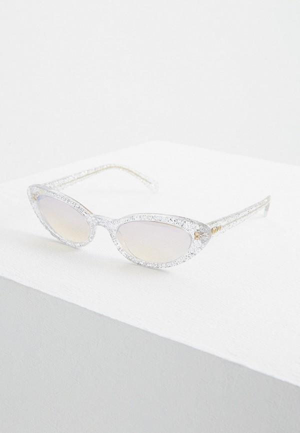 Очки солнцезащитные Miu Miu Miu Miu MI007DWFTTG7 очки солнцезащитные miu miu miu miu mi007dwzaw70