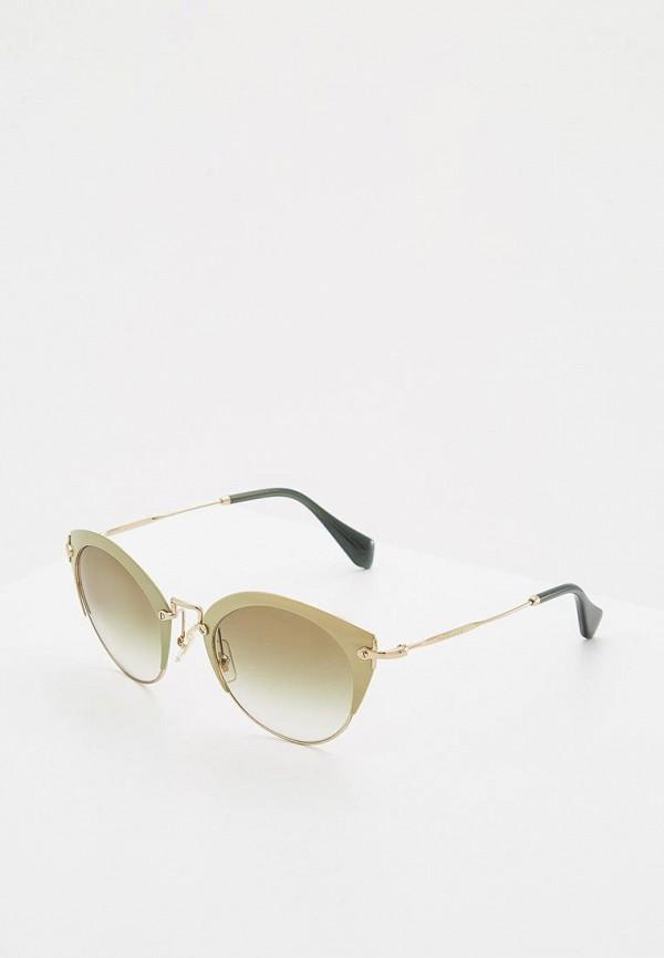 Очки солнцезащитные Miu Miu Miu Miu MI007DWINF07 цены
