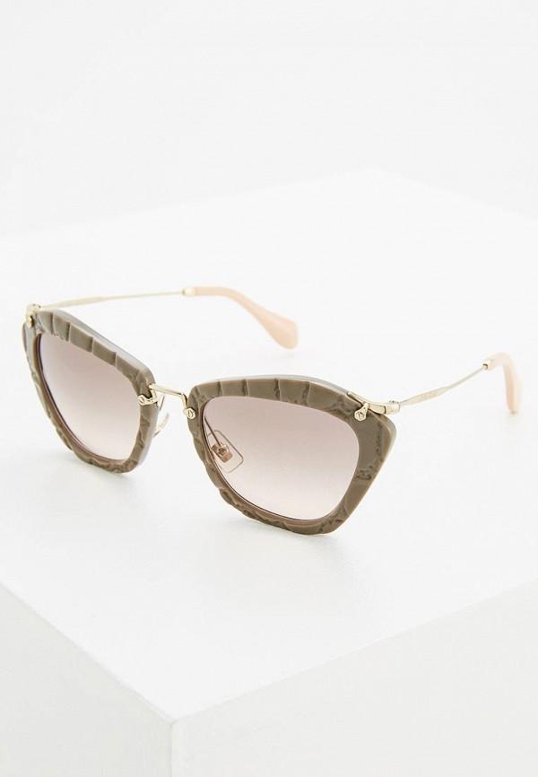 Очки солнцезащитные Miu Miu Miu Miu MI007DWOZD51 цены онлайн