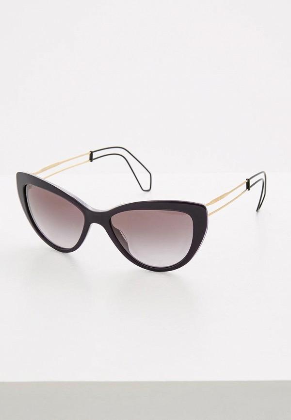 Очки солнцезащитные Miu Miu Miu Miu MI007DWOZD54 miu miu черный шерстяной кардиган