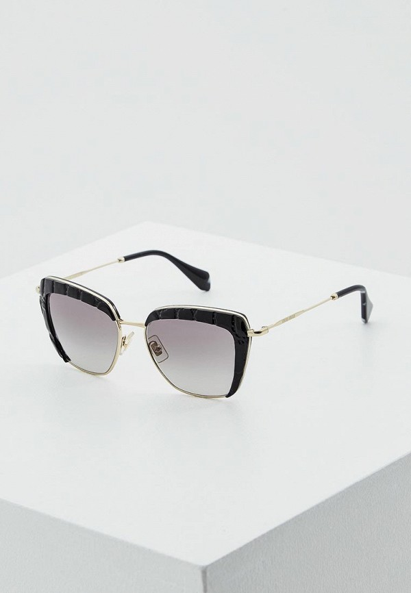 Очки солнцезащитные Miu Miu Miu Miu MI007DWOZD55 цены онлайн