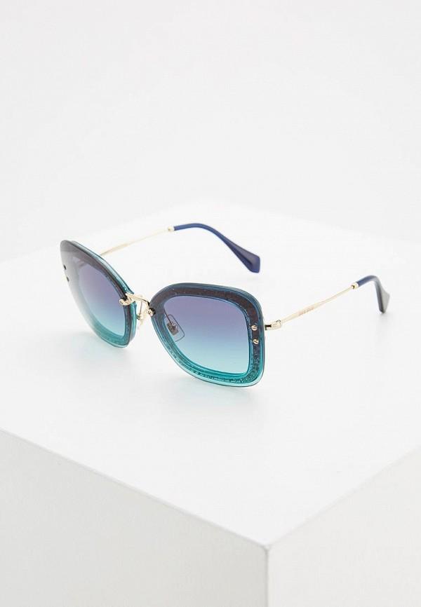 Очки солнцезащитные Miu Miu Miu Miu MI007DWZAW80 очки солнцезащитные miu miu miu miu mi007dwozv70
