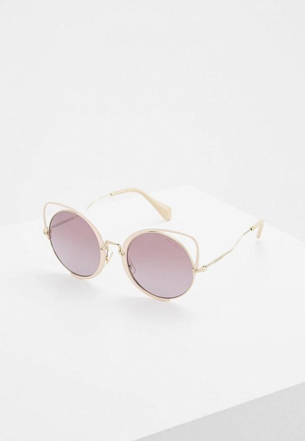 Очки солнцезащитные Miu Miu Miu Miu MI007DWZAW93 очки солнцезащитные miu miu miu miu mi007dwozv70