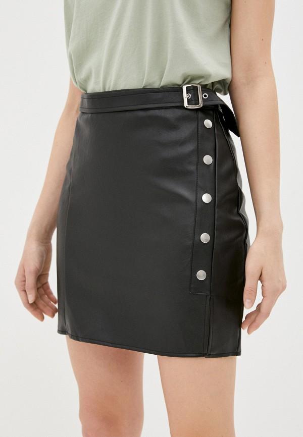 женская юбка missguided, черная