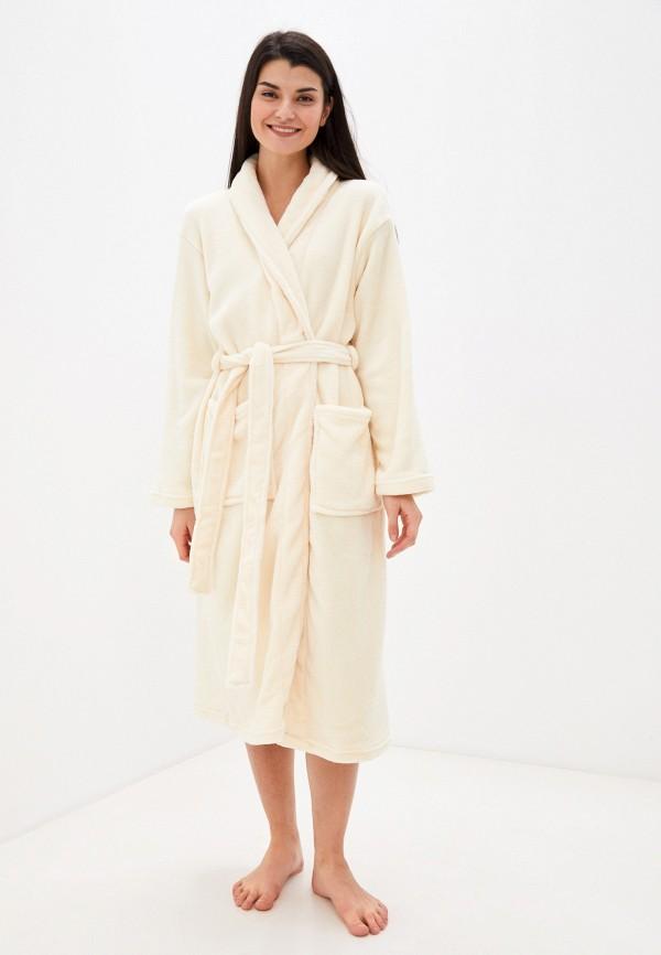 женский халат missguided, бежевый