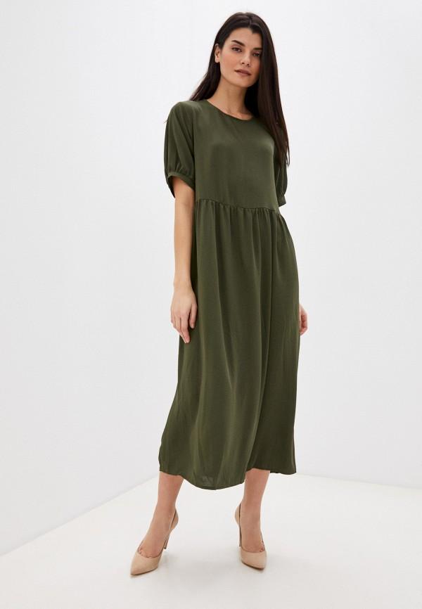 женское повседневные платье missguided, хаки
