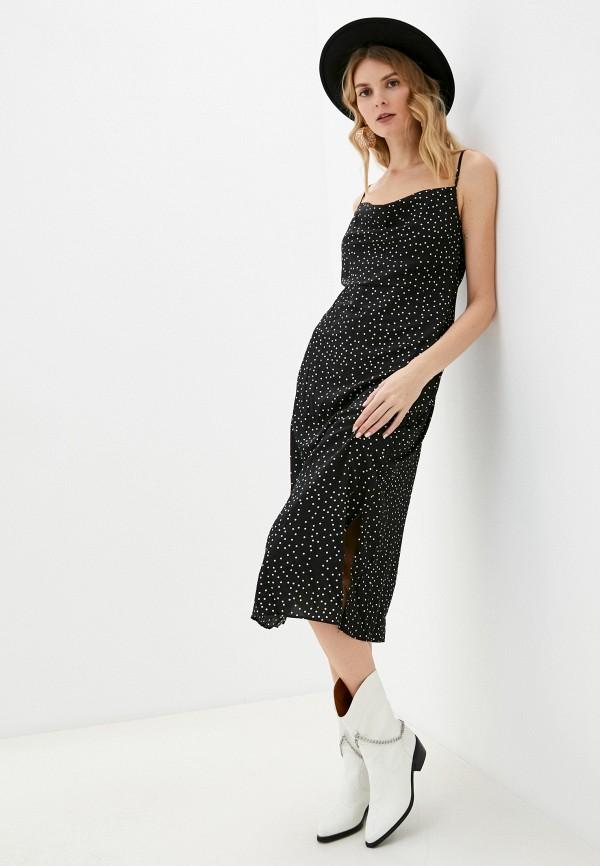 женское платье missguided, черное