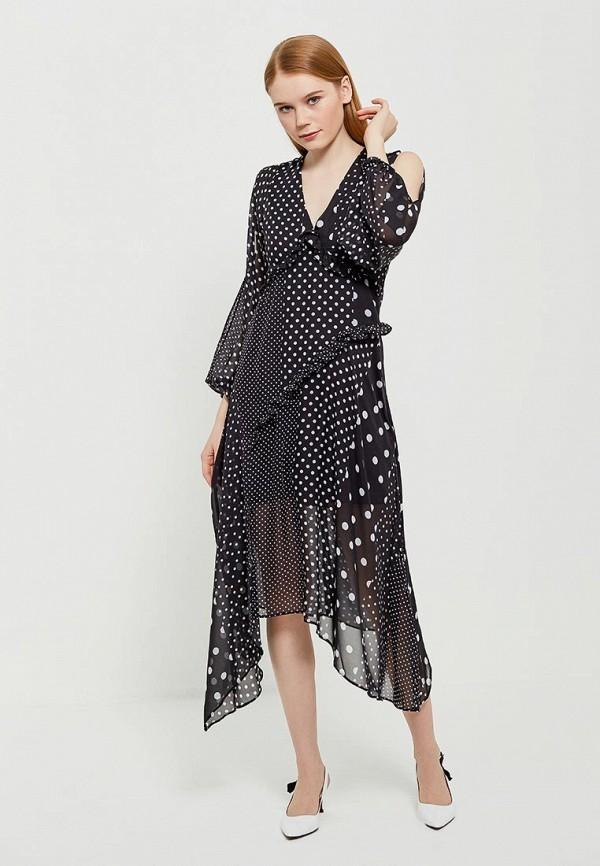 Купить Платье Miss Selfridge, MI035EWAHZU6, черный, Весна-лето 2018