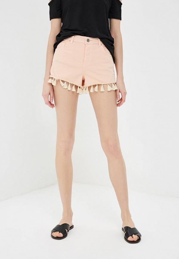 Купить Шорты джинсовые Miss Selfridge, MI035EWBLXX9, розовый, Весна-лето 2018