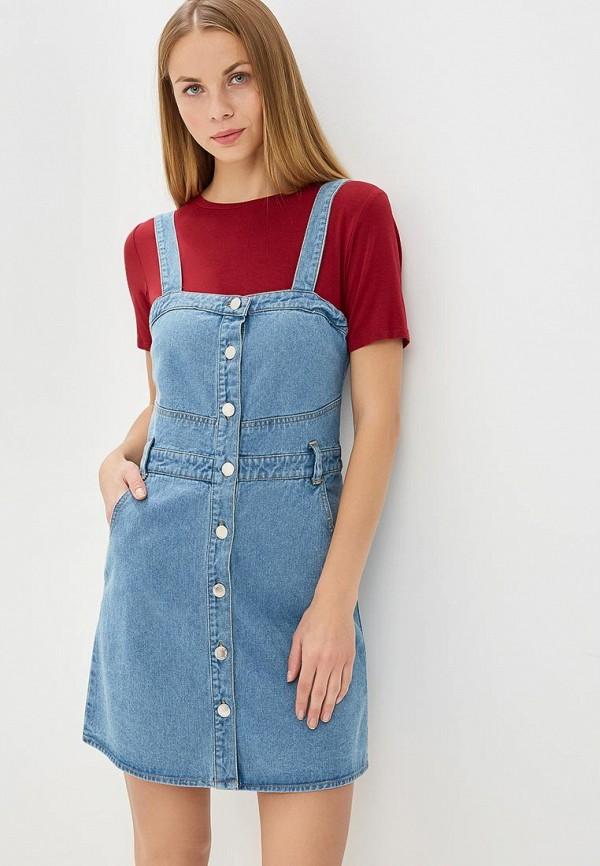 Платье джинсовое Miss Selfridge Miss Selfridge MI035EWBSDK4
