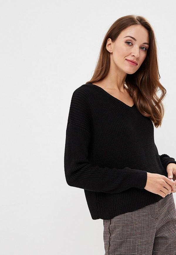 Купить Пуловер Miss Selfridge, mi035ewcomn0, черный, Осень-зима 2018/2019