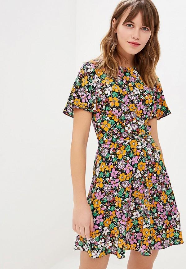 Платье  мультиколор цвета