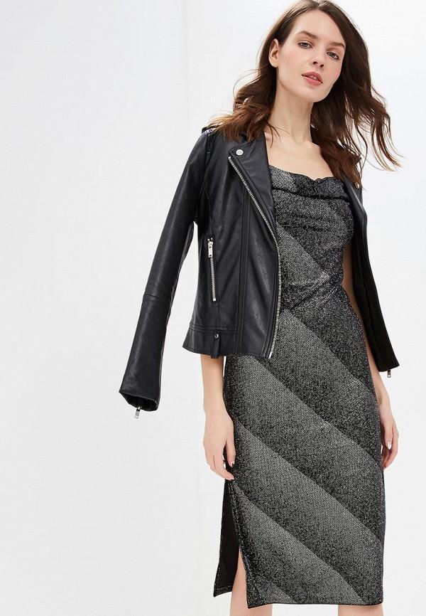 женское вечерние платье miss selfridge, серебряное