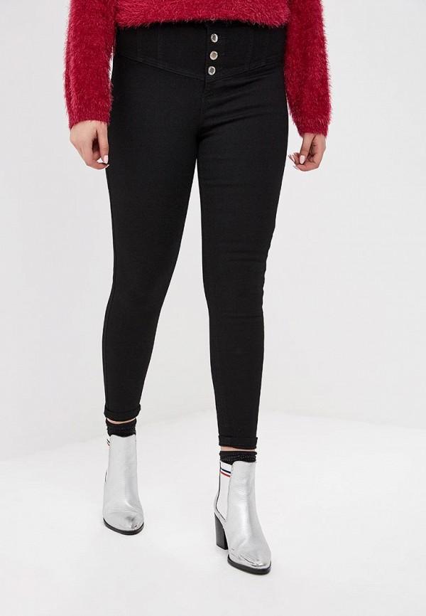 женские джинсы miss selfridge, черные