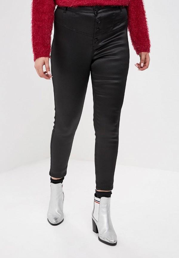 женские повседневные брюки miss selfridge, черные