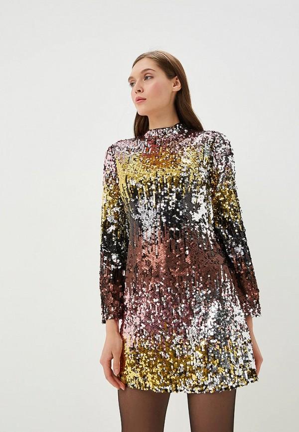 женское вечерние платье miss selfridge, разноцветное