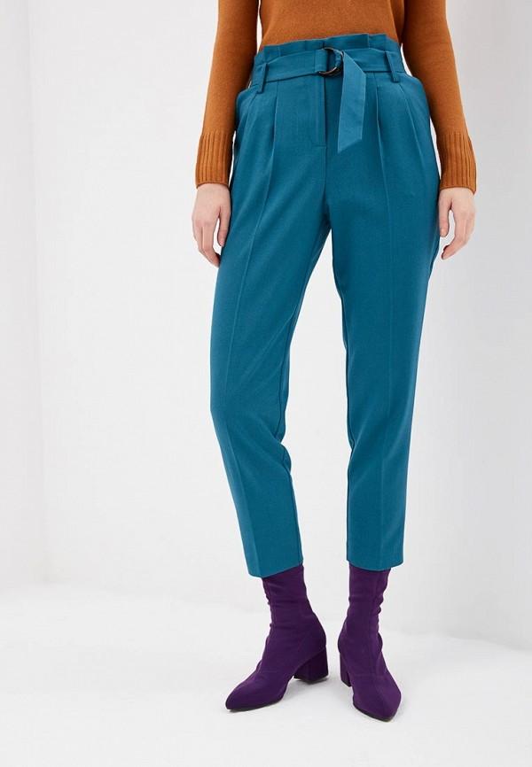 женские повседневные брюки miss selfridge, бирюзовые