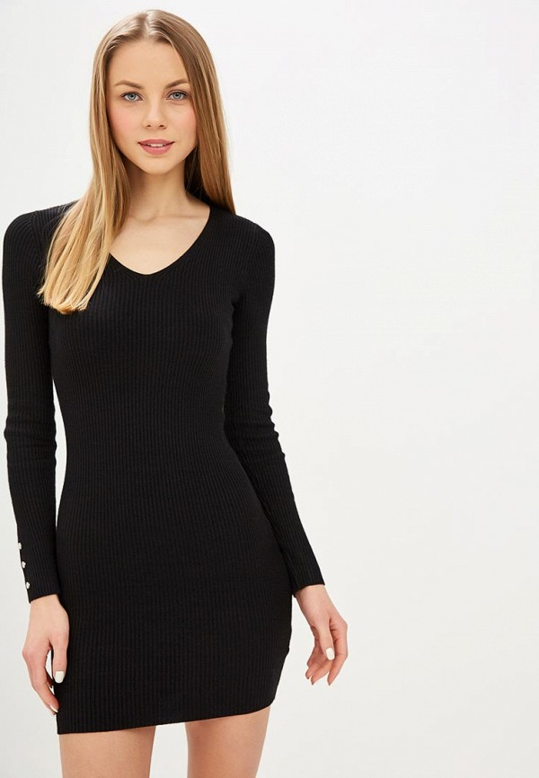 женское платье miss selfridge, черное