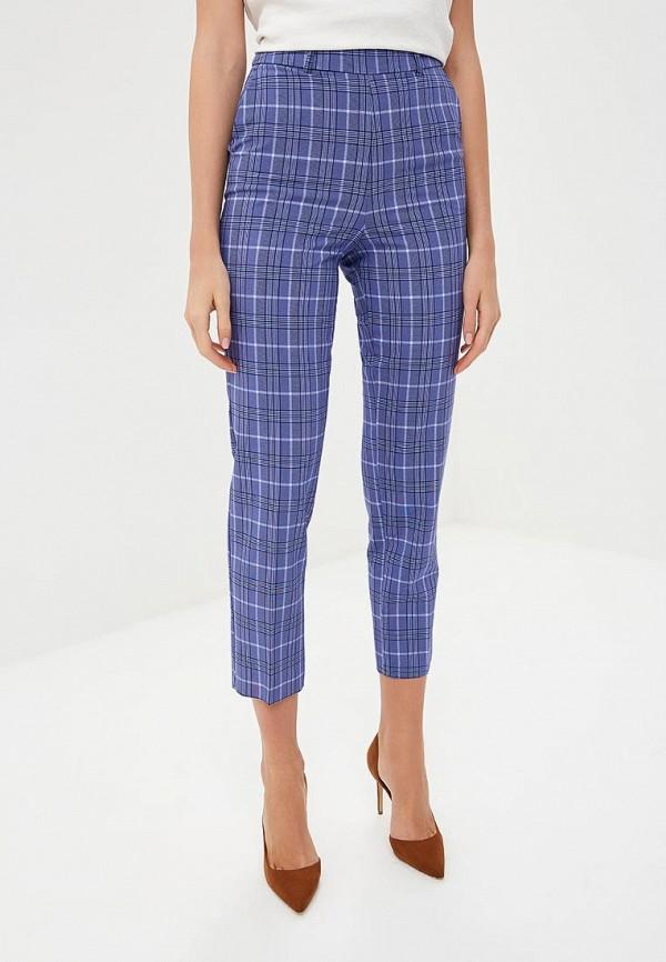 женские повседневные брюки miss selfridge, голубые