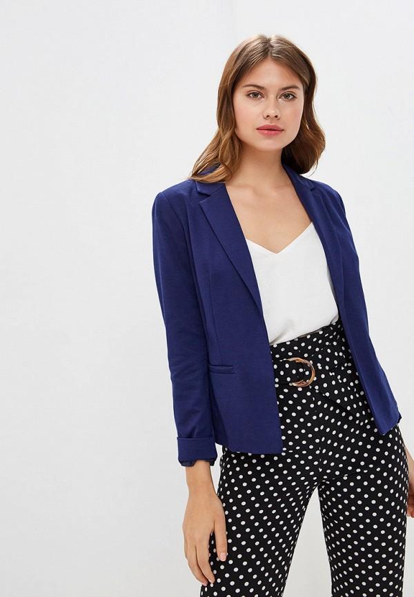 женский пиджак miss selfridge, синий