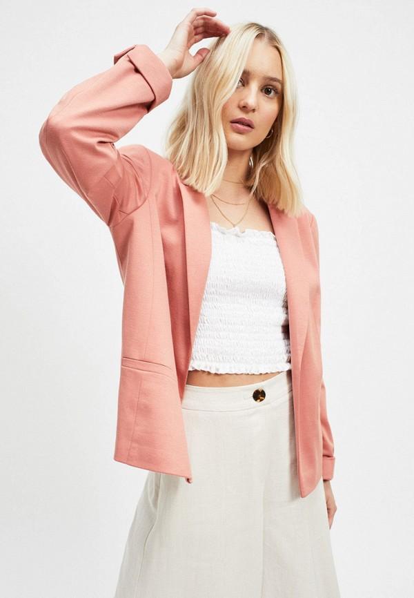 женский жакет miss selfridge, розовый
