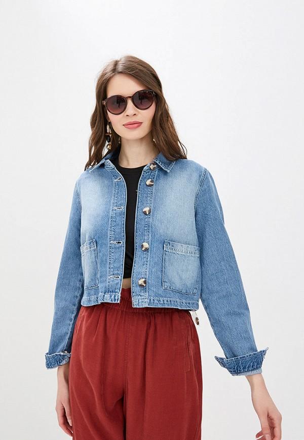 Куртка джинсовая Miss Selfridge Miss Selfridge MI035EWFAZV7 miss miss куртка