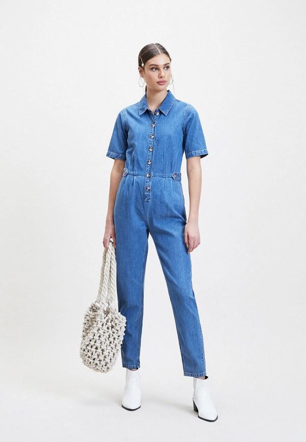 купить Комбинезон джинсовый Miss Selfridge Miss Selfridge MI035EWFHVE2 по цене 5030 рублей