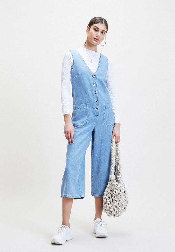 купить Комбинезон джинсовый Miss Selfridge Miss Selfridge MI035EWFHVE3 по цене 4410 рублей