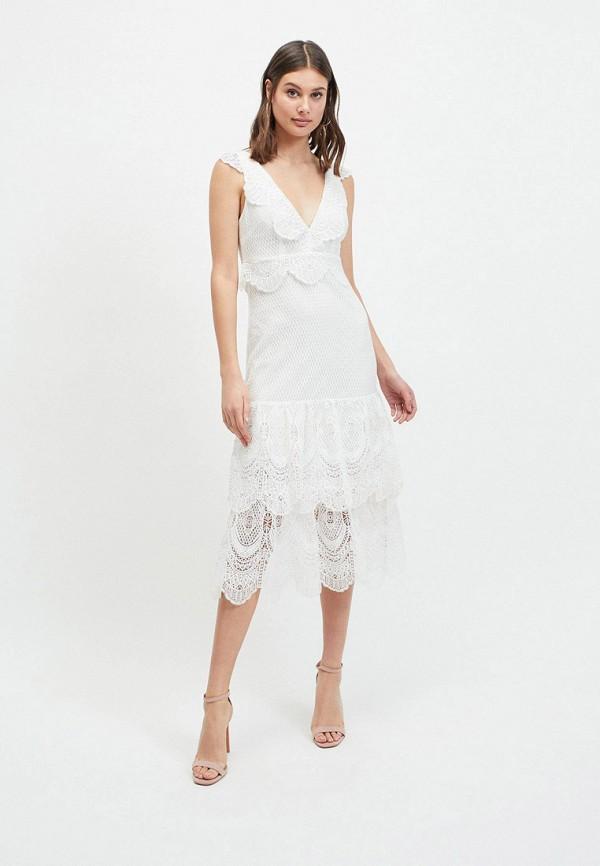 женское платье miss selfridge, белое