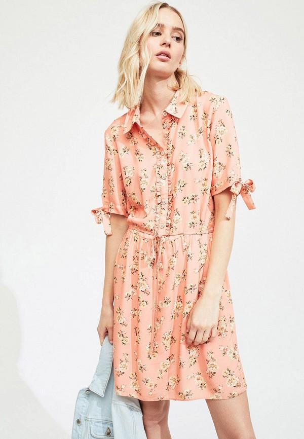 женское платье miss selfridge, розовое