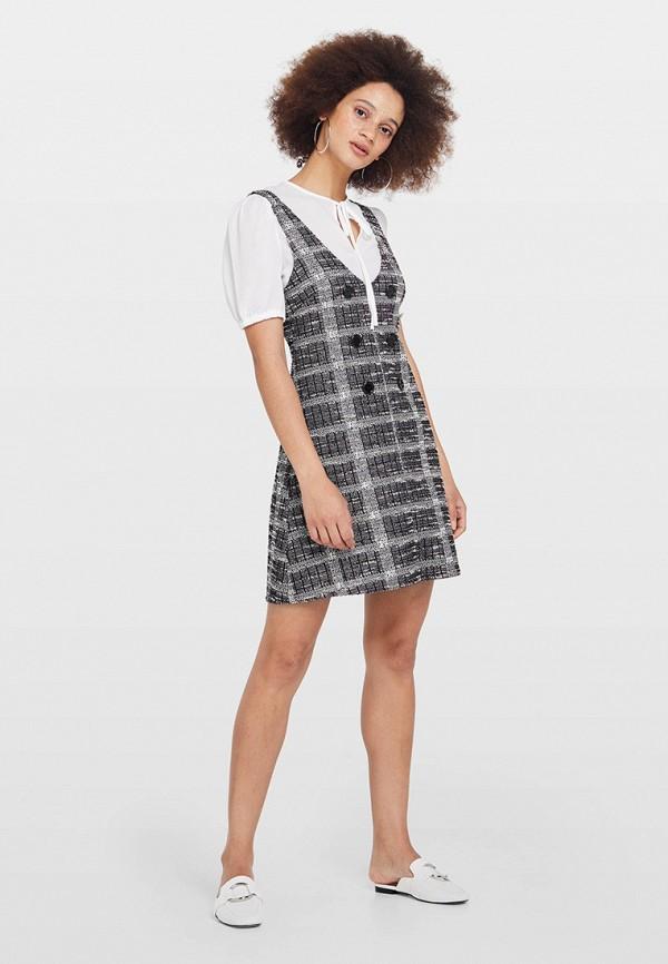 женское повседневные платье miss selfridge, серебряное