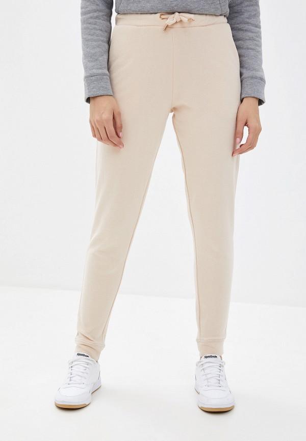 женские спортивные спортивные брюки miss selfridge, бежевые