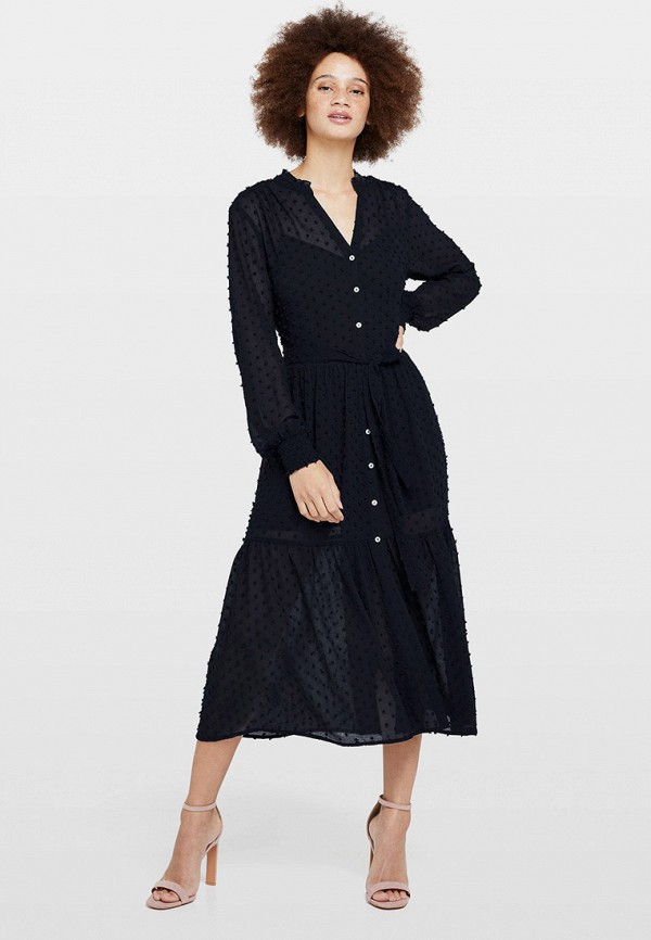 женское повседневные платье miss selfridge, синее