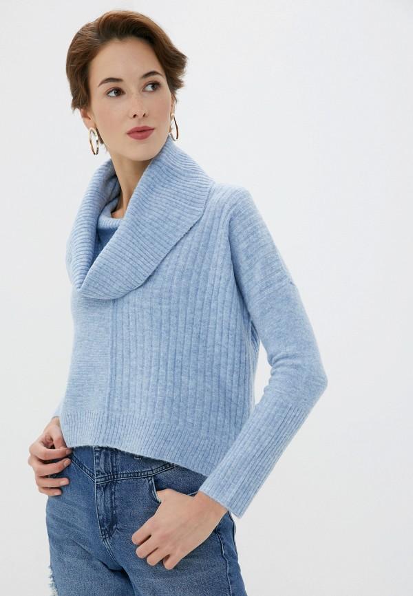 женский свитер miss selfridge, голубой
