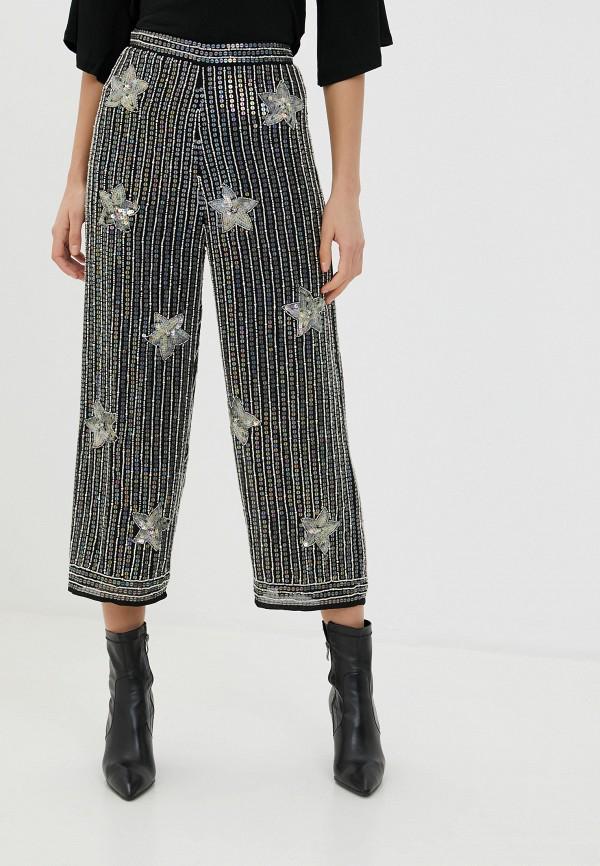 женские повседневные брюки miss selfridge, серебряные