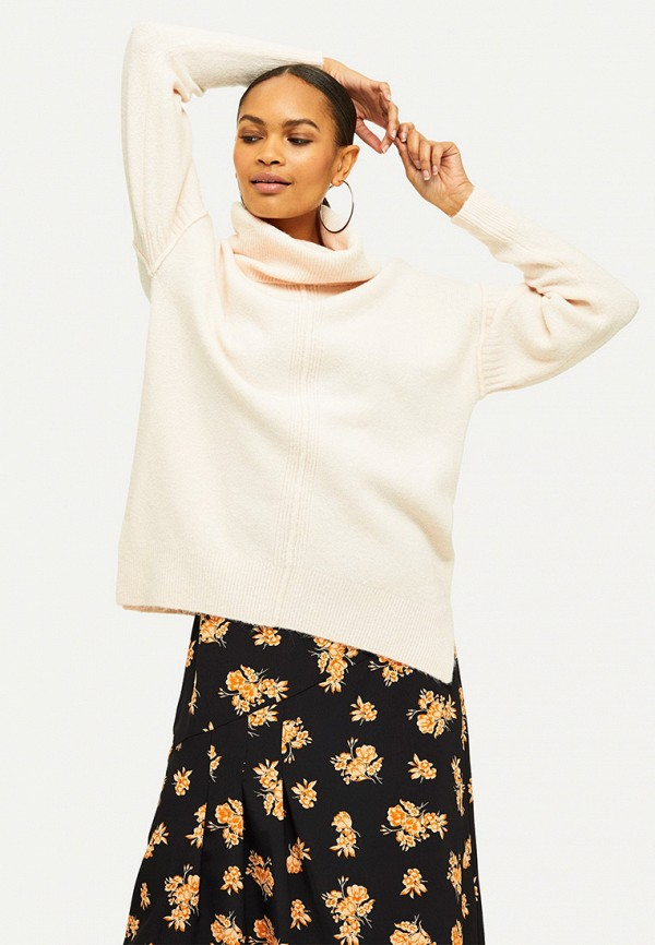 женский свитер miss selfridge, розовый