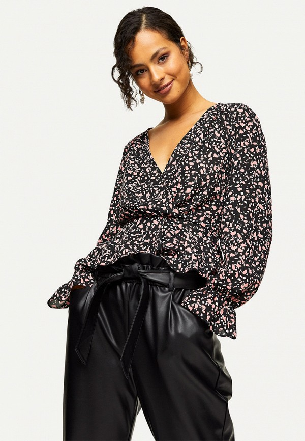 женская блузка miss selfridge, разноцветная