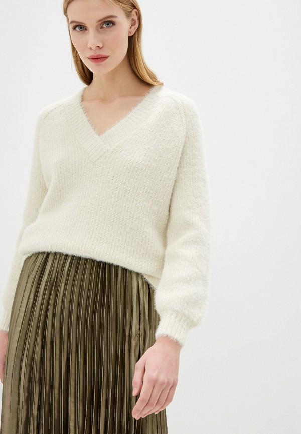 женский пуловер miss selfridge, бежевый