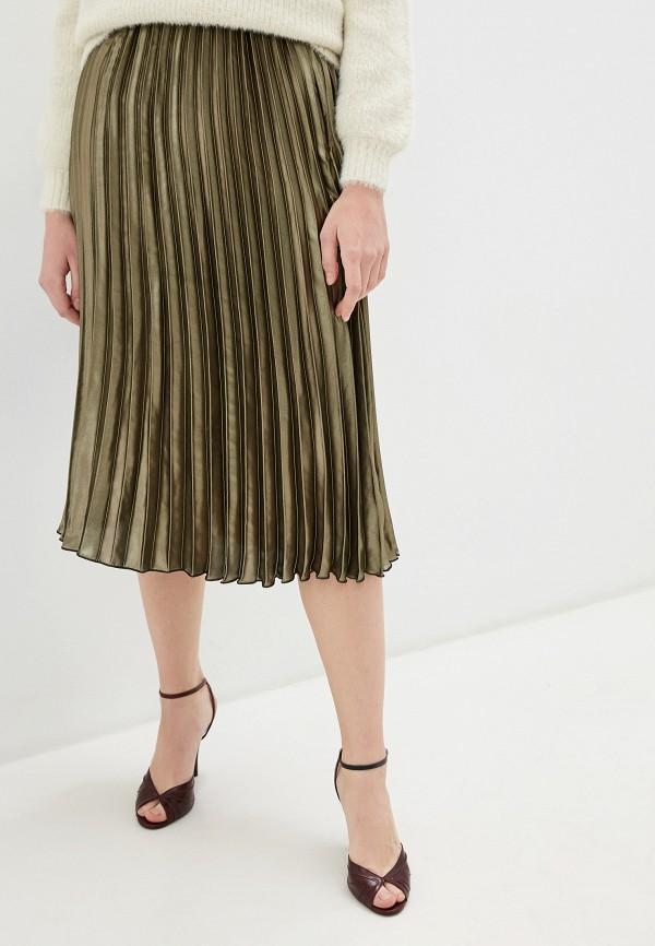 женская юбка miss selfridge, хаки