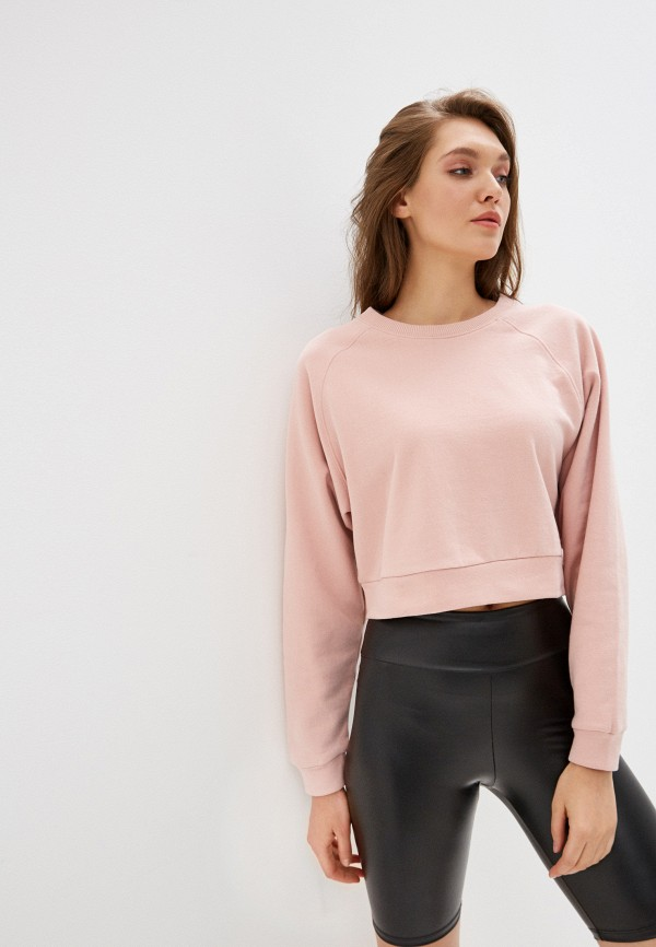женский свитшот miss selfridge, розовый