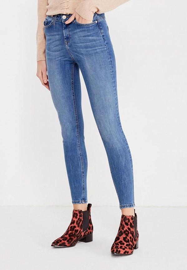 женские джинсы с push-up miss selfridge, голубые