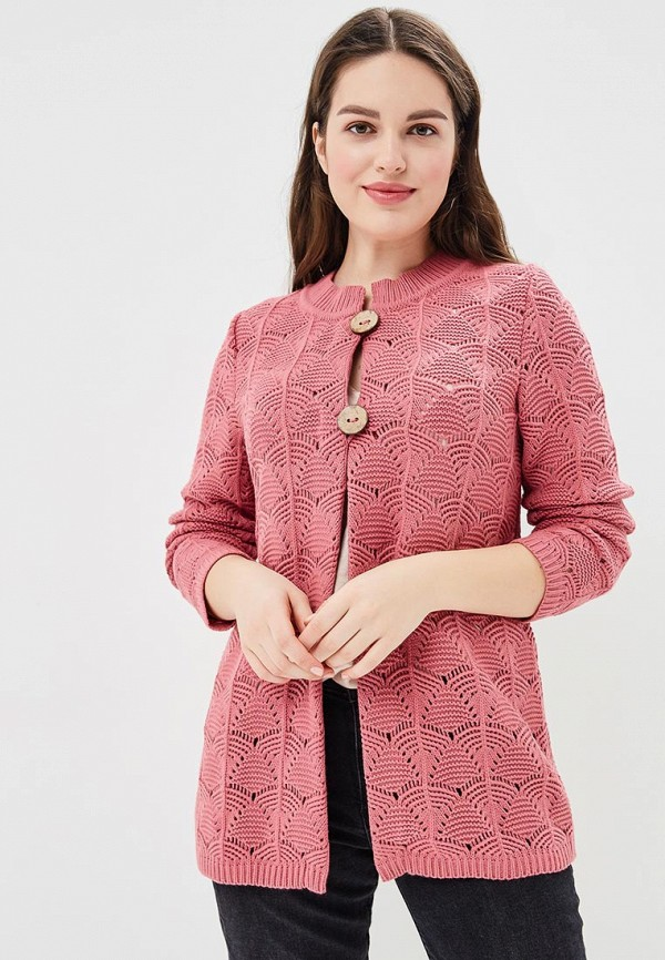 Фото - женский кардиган Milana Style розового цвета