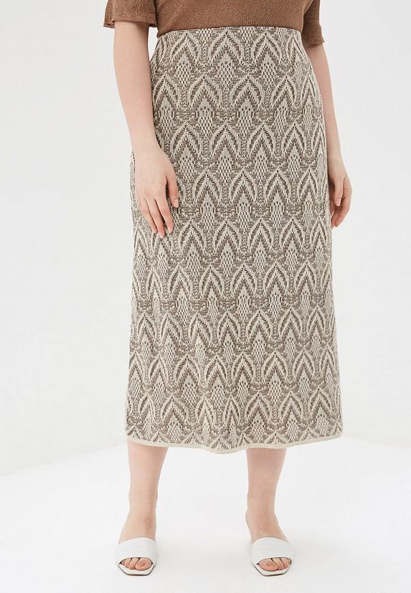 женская юбка milana style, бежевая