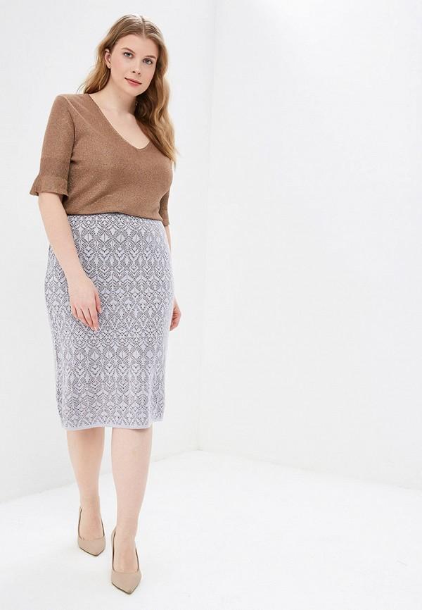 Фото 2 - женскую юбку Milana Style фиолетового цвета