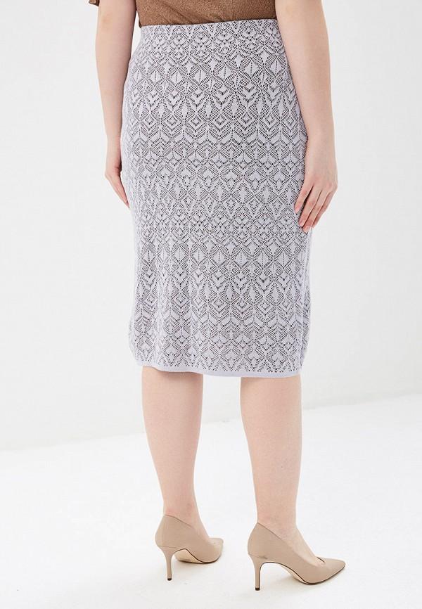 Фото 3 - женскую юбку Milana Style фиолетового цвета