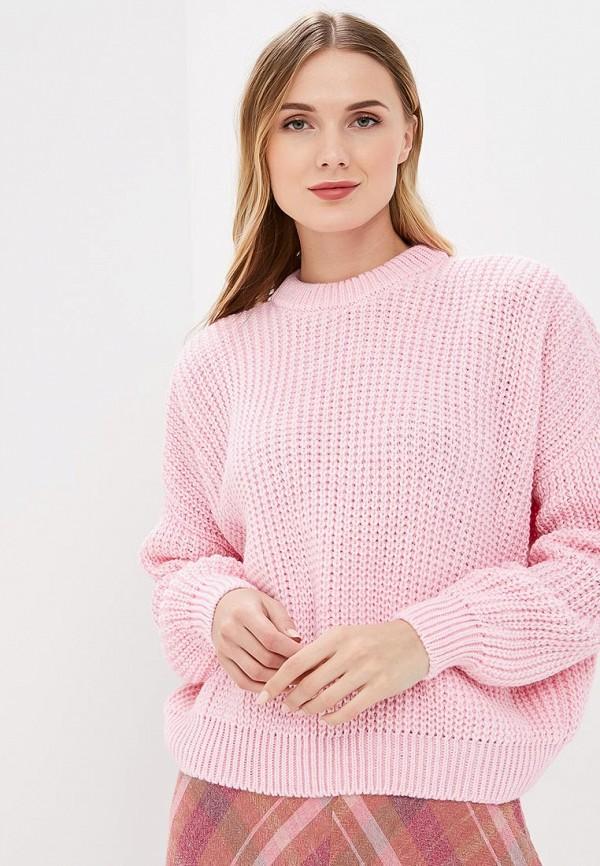 женский джемпер milana style, розовый